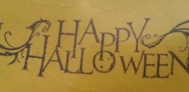 Happy halloween – Stämpel NY