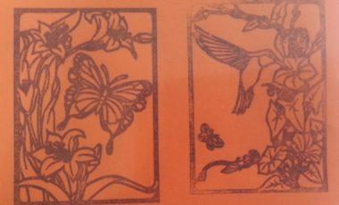 Kolibri & Fjäril – Stämplar