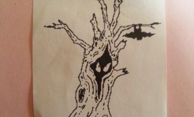 Spökträd – Stämpel NY