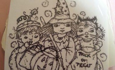 Halloween Barn – Stämpel NY