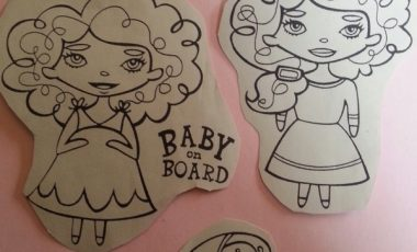Baby on board – Stämpel NY