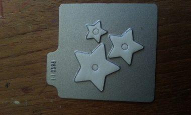 Stjärnor 3st Die